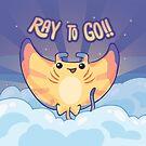 Ray to Go! / Manta Ray Of Sunshine by bytesizetreas