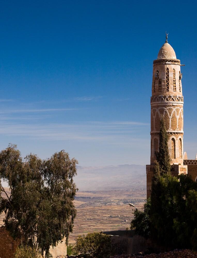 Minaret - Yemen by Lisa Germany