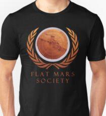 Flache Mars Gesellschaft Slim Fit T-Shirt