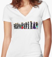 Beta trolls Women's Fitted V-Neck T-Shirt