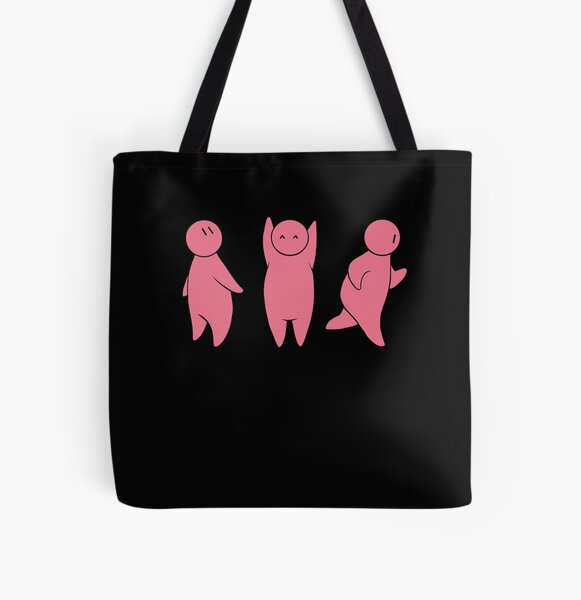Little-Creature times three All Over Print Tote Bag
