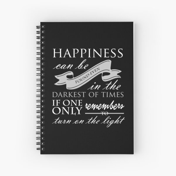 Hapiness Spiral Notebook