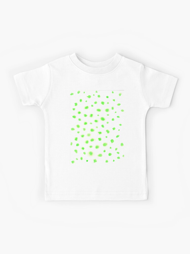 Lime Green Spot Top Age 5