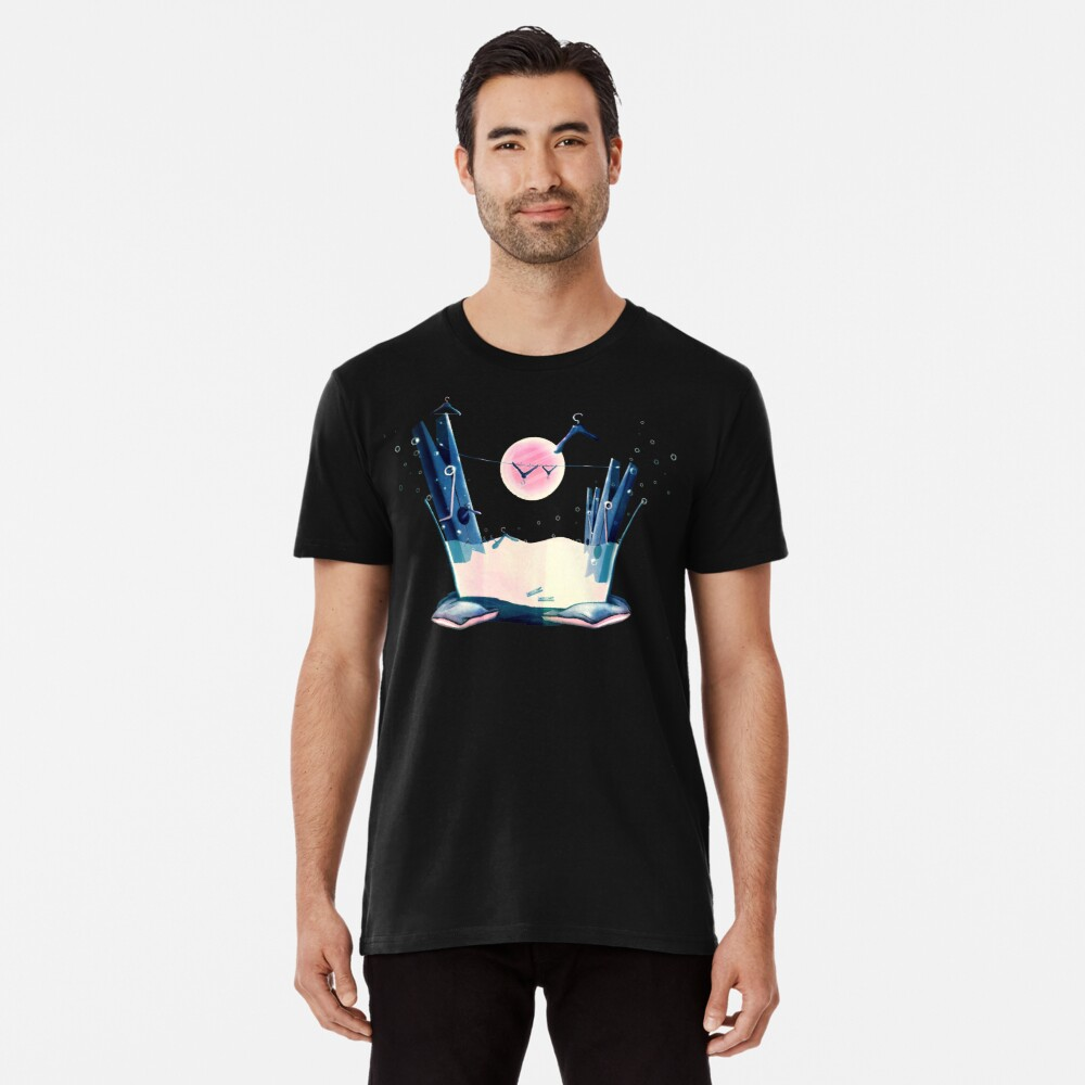 Moon Wash Premium T-Shirt