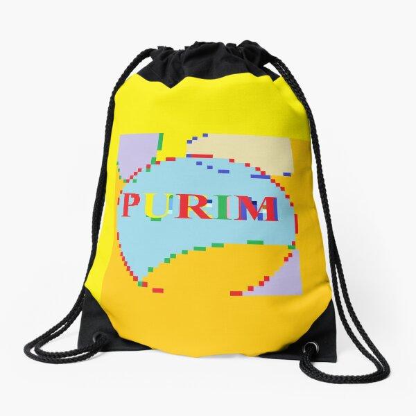 Purim Drawstring Bag