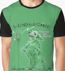 Be Kind to Animals Graphic T-Shirt
