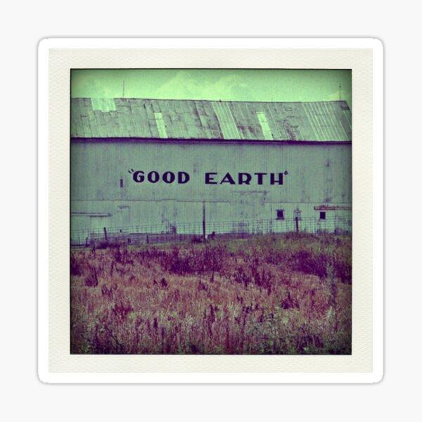 GOOD EARTH Sticker