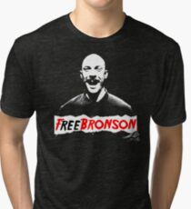 Free Charles Bronson v2 Tri-blend T-Shirt