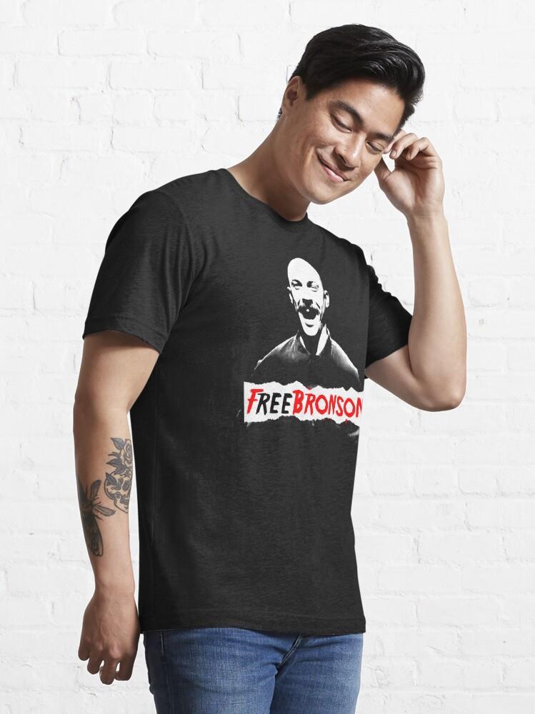 Alternate view of Free Charles Bronson v2 Essential T-Shirt