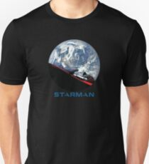 STARMAN with Starman SpaceX style Font. Unisex T-Shirt