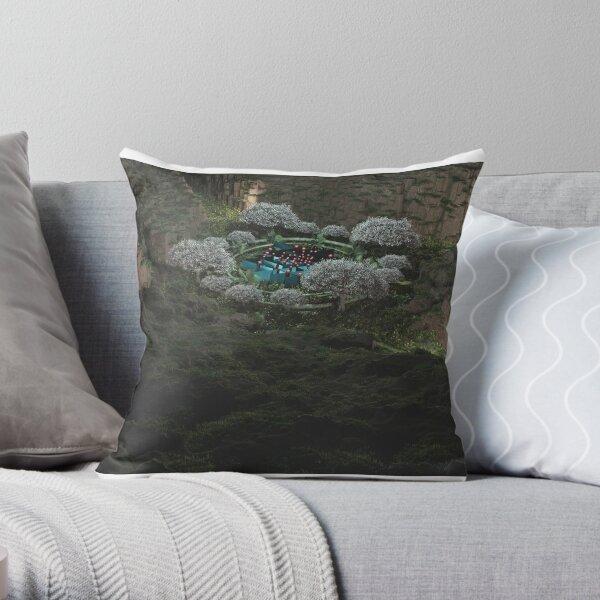 Sri Yantra Garden - Image 8 of 9 Throw Pillow