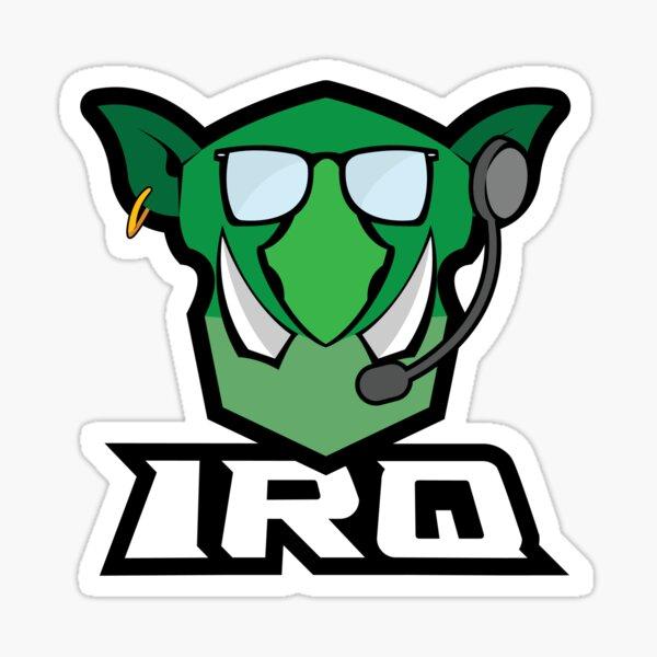 IRQ clan logo Sticker