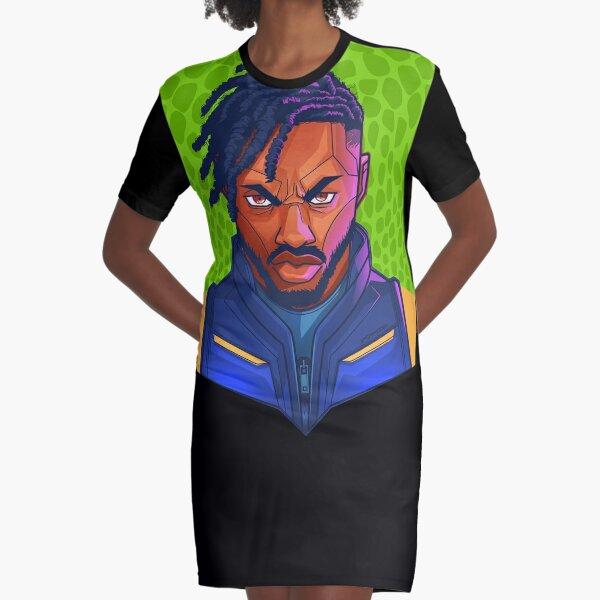 Kilmonger Was Right Graphic T-Shirt Dress