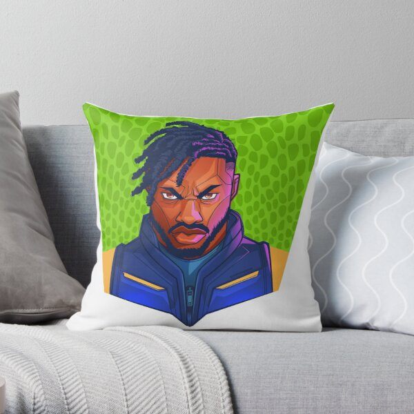 Kilmonger Was Right Throw Pillow