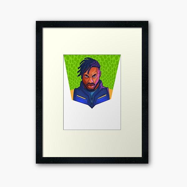 Kilmonger Was Right Framed Art Print