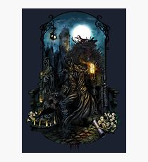 Bloodborne - The Hunt Photographic Print