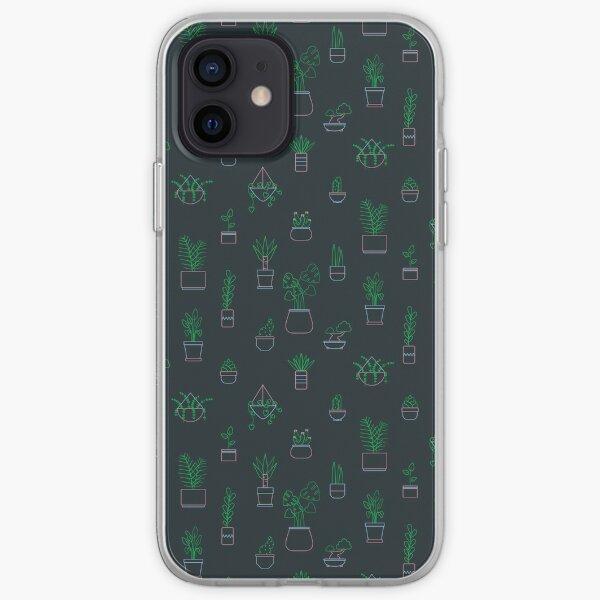 Neon Plants iPhone Soft Case