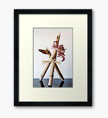 Ikebana-101 Framed Print
