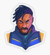 Kilmonger Was Right Transparent Sticker