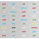 Stroop Test deutsch von TintenklecksArt