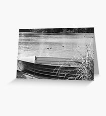 serenity at Lake Conjola Greeting Card