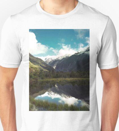 (Franz-Josef-Gletscher) Wo der Schnee schmilzt T-Shirt