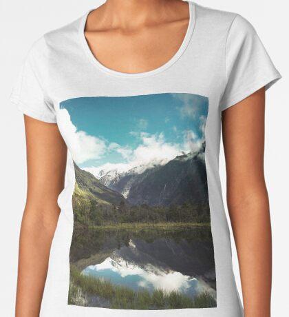 (Franz-Josef-Gletscher) Wo der Schnee schmilzt Frauen Premium T-Shirts