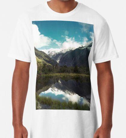 (Franz-Josef-Gletscher) Wo der Schnee schmilzt Longshirt