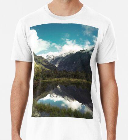 (Franz-Josef-Gletscher) Wo der Schnee schmilzt Premium T-Shirt