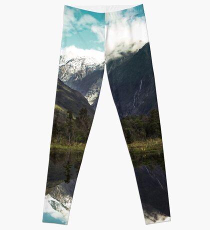 (Franz-Josef-Gletscher) Wo der Schnee schmilzt Leggings