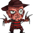 Freddy Sticker - Terror Toddler by thecalgee