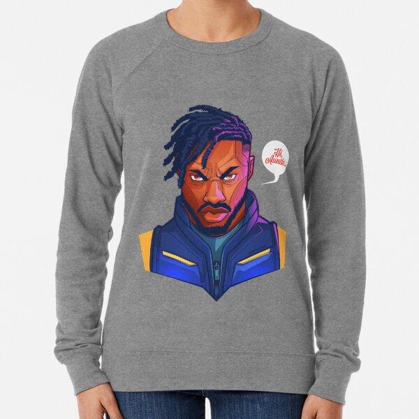 Kilmonger Was Right Lightweight Sweatshirt