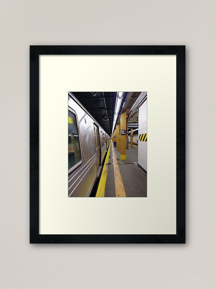 Alternate view of Subway station Framed Art Print