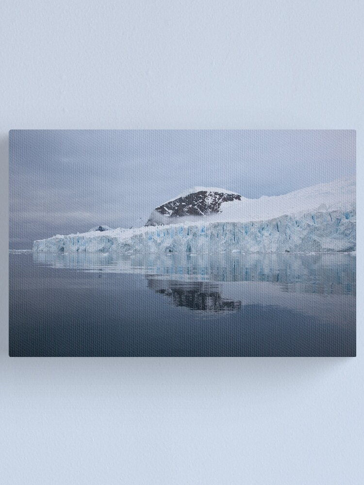 Alternate view of Deville Glacier Canvas Print