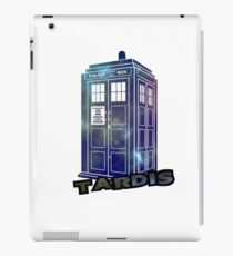 Doctor Who Space Tardis  iPad Case/Skin