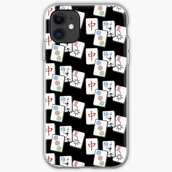 MahJong Cubes iPhone Soft Case