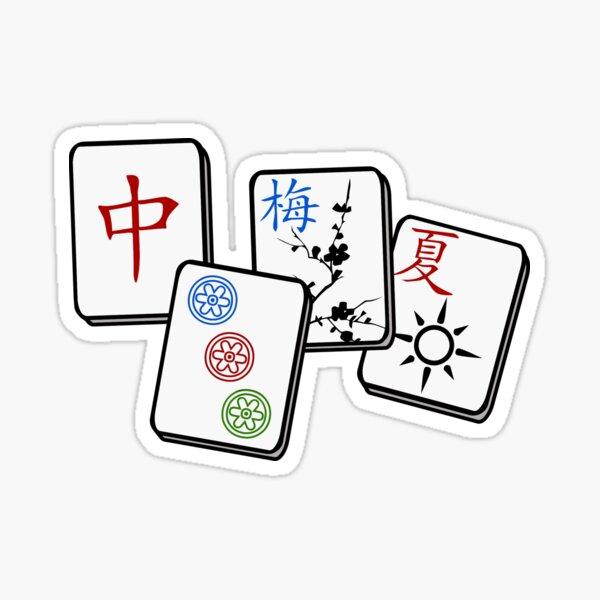 MahJong Cubes Sticker