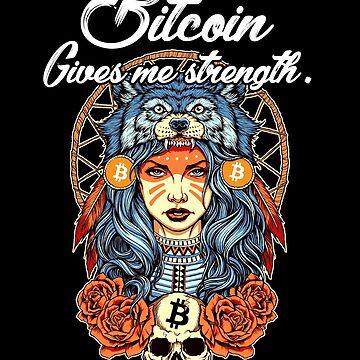 Modern Bitcoin Shaman by CryptoTextile