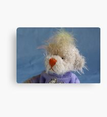 No I don't have a bad hair day! Canvas Print