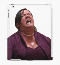 its coming out of me like lava iPad Case/Skin