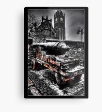 The Walls of Derry Metal Print