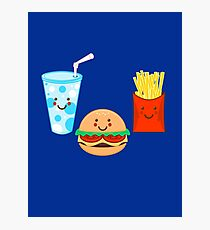 HAPPY MEAL Photographic Print