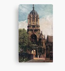 Tom Tower, Oxford, Early 20th century Canvas Print