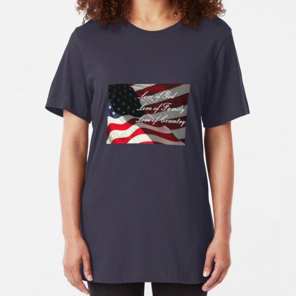 American Values Slim Fit T-Shirt