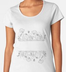 Floral Women's Premium T-Shirt