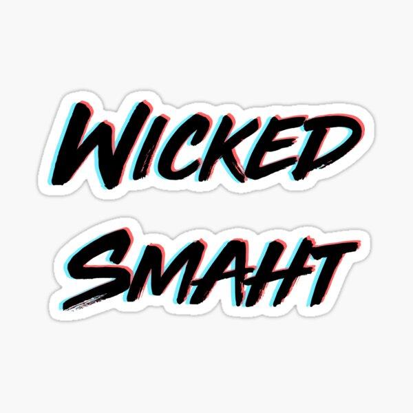 Wicked Smart 3D Sticker