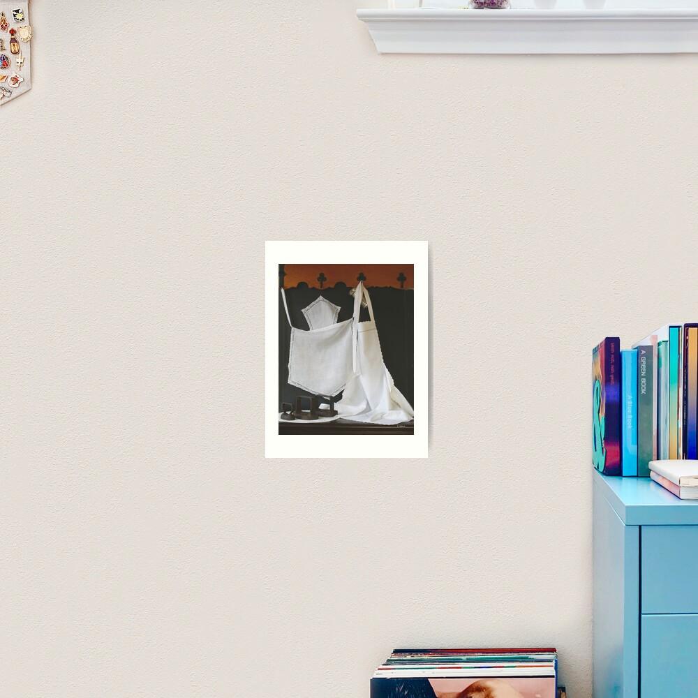 """Downstairs"" Art Print By Gilberte"