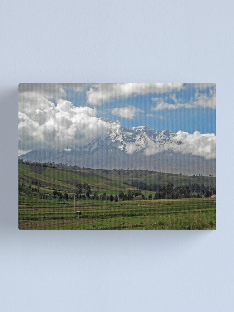 Alternate view of Chimborazo Canvas Print