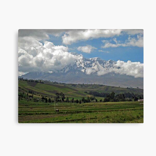 Chimborazo Canvas Print