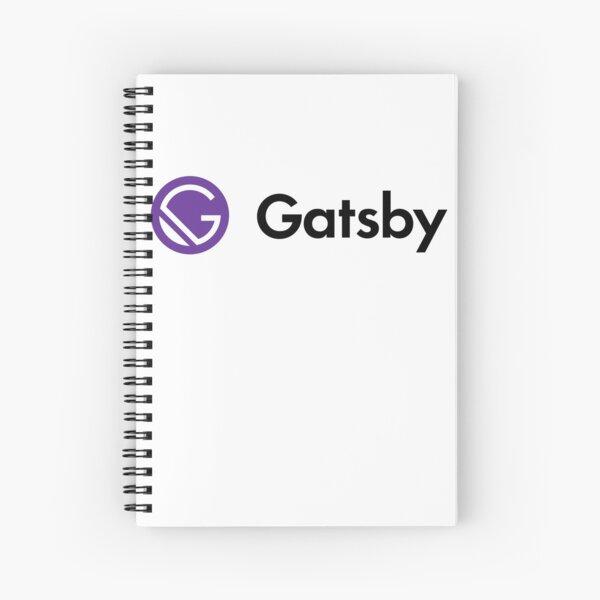 GatsbyJS Logo Spiral Notebook